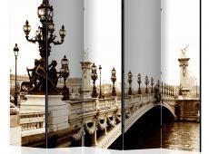 Paraván - Alexander III Bridge, Paris II [Room Dividers]